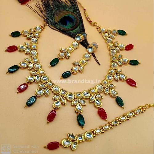 BrandTag's Elegantly Beautiful Barkha Necklace set for women !