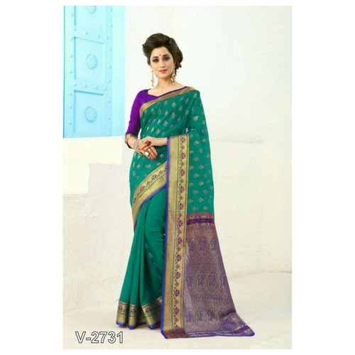 Exclusive Gudhi Padwa Collection - Banarasi Silk Saree for women !