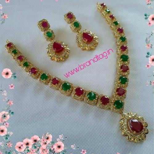 Beautifully Designed Stone Studded Necklace for women !