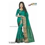 Cotton - silk Saari!!