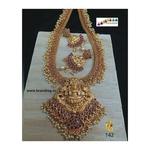 Beautiful Baahubali Divine Temple Long Necklace Set!!!