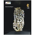 Christmas Collection !! Sparkling Diamond Kada Bracelet !!