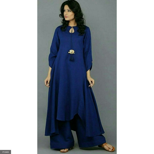 Stylish Kurta with Palazzo!