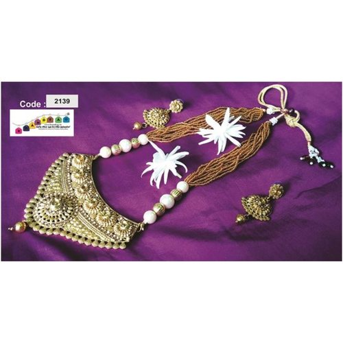 BrandTag's Shree Radhe Necklace set !