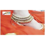 Special Navratri Collection...Elegant Golden Paayal!!