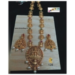 Baahubali Divine Temple Long Necklace Set!!!