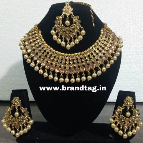BrandTags Beautifully designed Ayushi Necklace set for women !