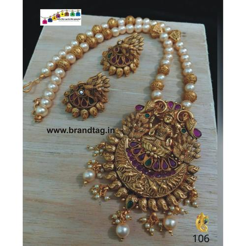 Exquisite Baahubali Chandrakor Long Necklace Set!!!