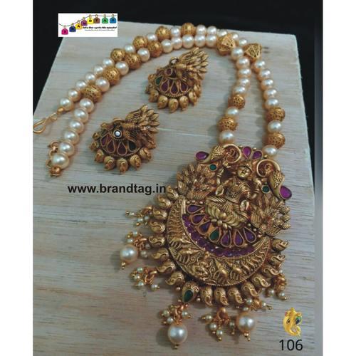 Exquisite Baahubali Chandrakor Long Necklace Set!!!