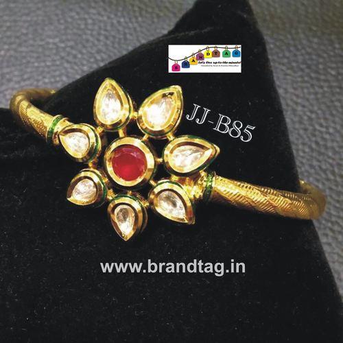 Special Raksha Bandhan collection!! Royal elegant  Kundan Kada Brecelet!