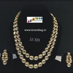 Royal elegan kundan necklace set...!!!