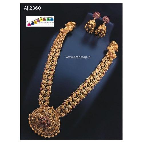Royal Golden Necklace set!