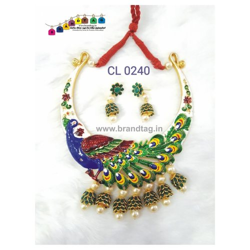 Appealing Peacock Necklace set !