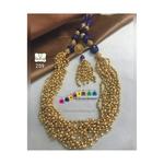 Exquisite Golden Mustard Long Necklace set!!