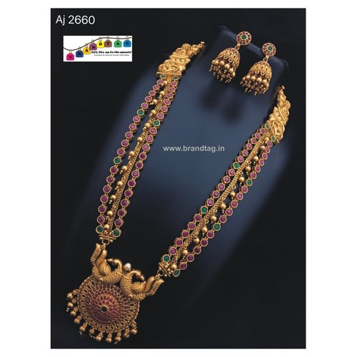 Matsyagnadha Long Necklace set!