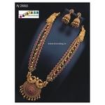 Matsyagnadha Long Necklace set!