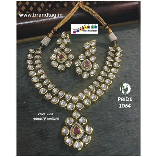 Exquisite Kundan Necklace Set!