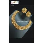 Ethnic Golden Beads Necklace set!