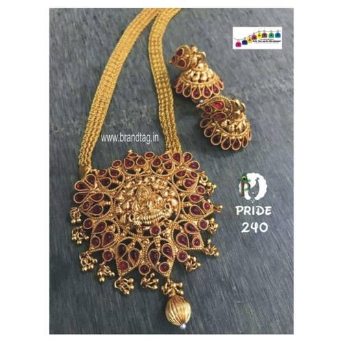 Exclusive Diwali Collection - Golden Phuljhadi Neckalce set!