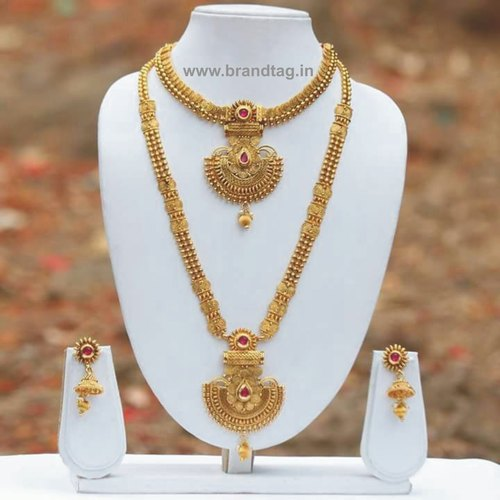 Gorgeous Looking Traditional Bridal Necklace set !