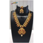 Diwali Collection - Long Golden Necklace set!