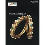 Uniquely designed multi colored bangles!!