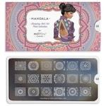 Mandala Nail Stamping Plate