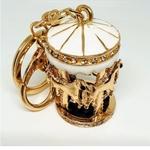 Horse Carousel Bag Charm