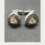 Diamante Cuff Links