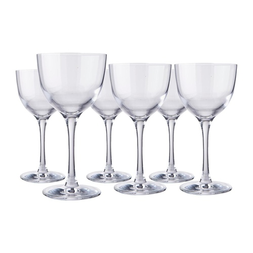 """Refine"" Cocktail Glass - Box of 6 Glasses from Fieldcrest"