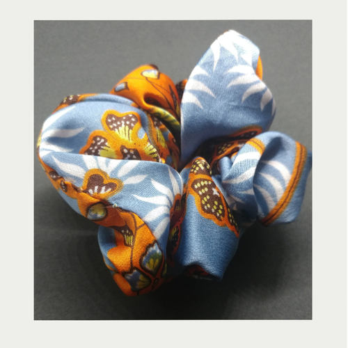 Kokoon Silk Hairband Bonsai Blue