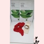 Shopping Find - Set of Faceshop Face Mask, Scrunchie and Ring