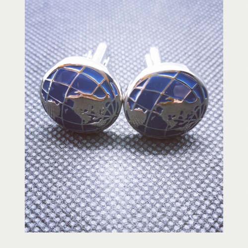 Globe Cuff Links