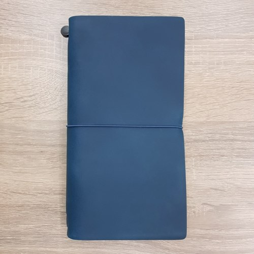 Notebook | Regular Size | Leather | Pan Am Blue