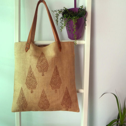TREE DESIGN TOTE BAG