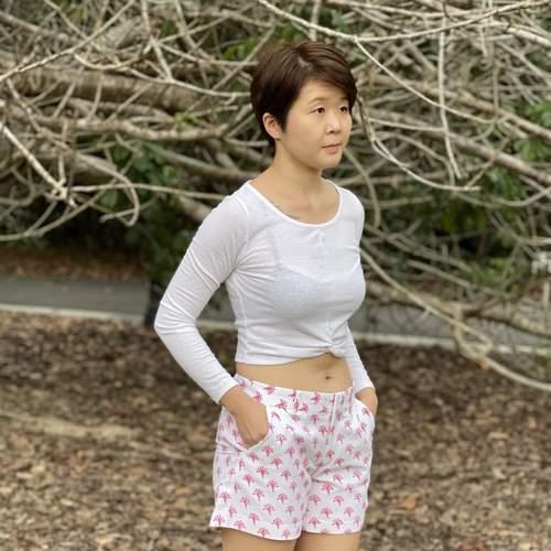 Pink Petal Shorts