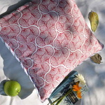Double Sided Cushions - Red and Grey 1818in