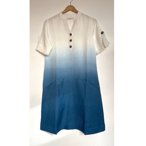 Dip-Dyed Linen dress