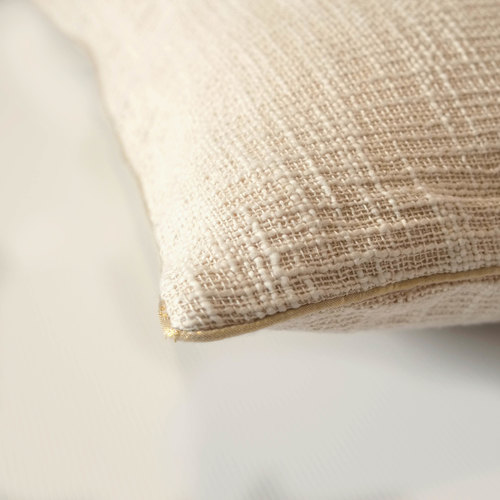 WHITE HANDLOOM CUSHION COVER (21inches*21inches)