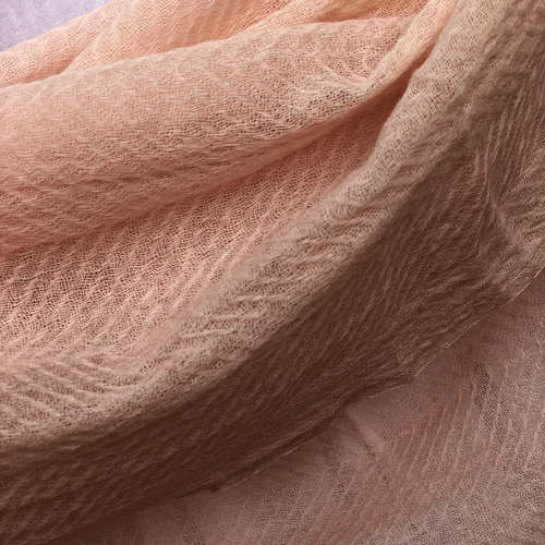 DUSTY PINK WAVES SHAWL