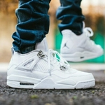 Air Jordan Retro 4 *Pure Money