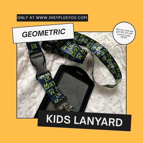 Kids Lanyard - GEOMETRIC