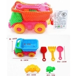 Mid Truck Sand Play set - with Snacks and Customized Tag