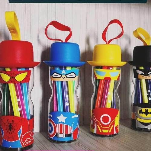 Superhero Markers