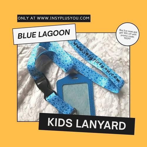 Kids Lanyard - BLUE LAGOON