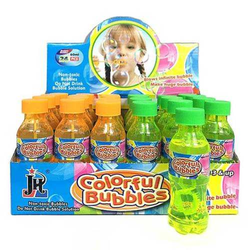 Colourful Bubbles with Wand 60ml