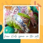 Kids Spoon with Bowl, Cereal and Customized Tag