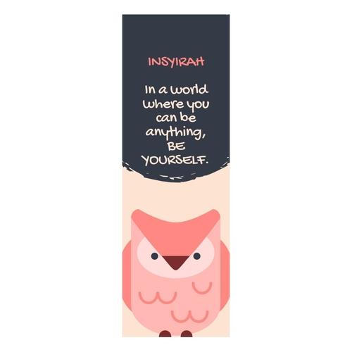 Personalized Bookmarks Laminated