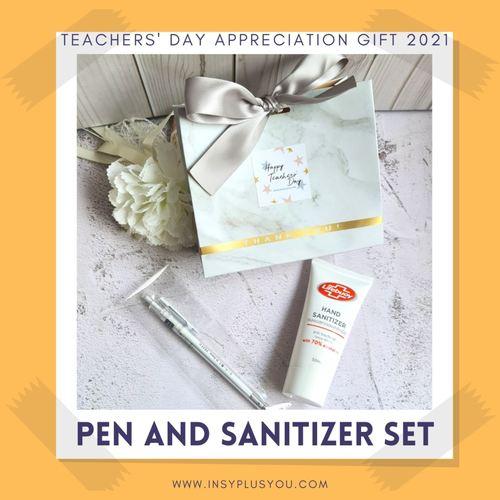 Pen and Hand Sanitizer set