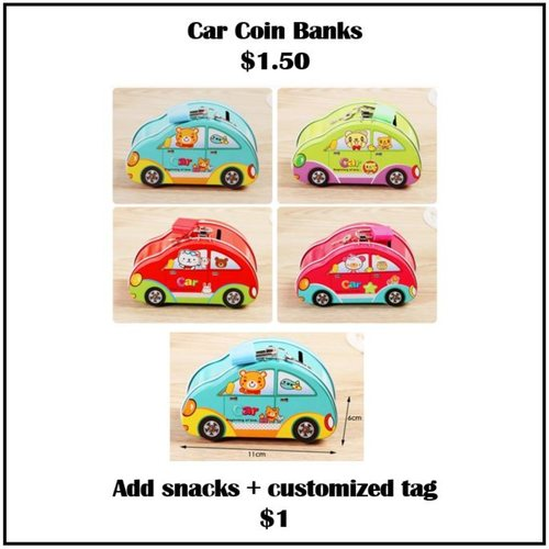 Car Coin Banks